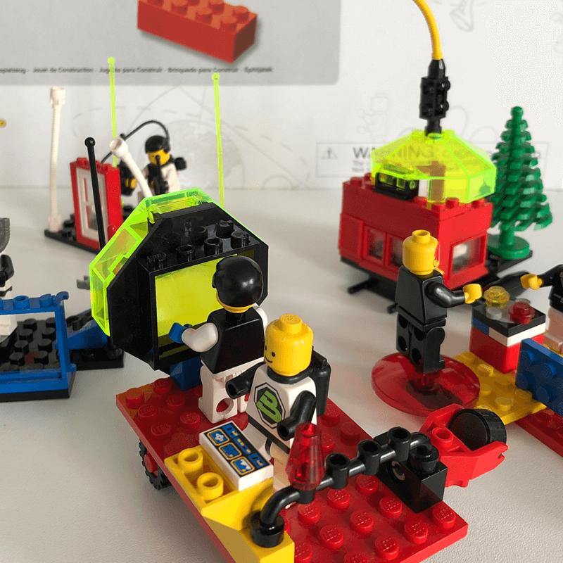 Legofiguren zur Unterstützung des Design Thinking Prozesses