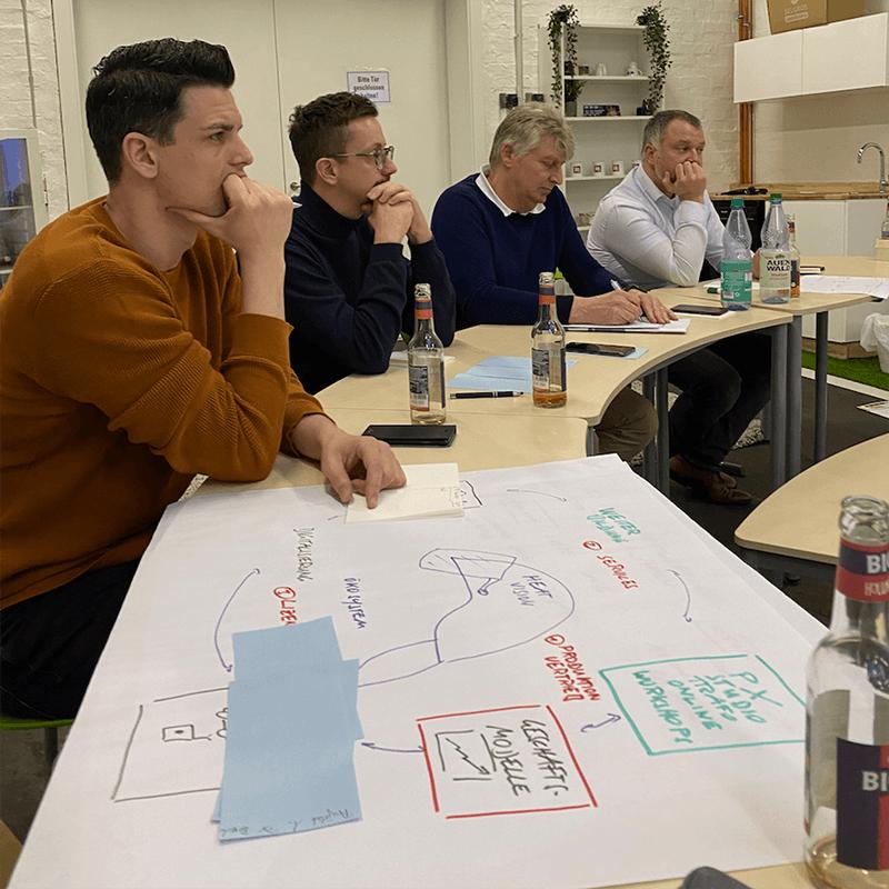 Entscheidungsgremium des Hackathon im Trafo Hub Braunschweig